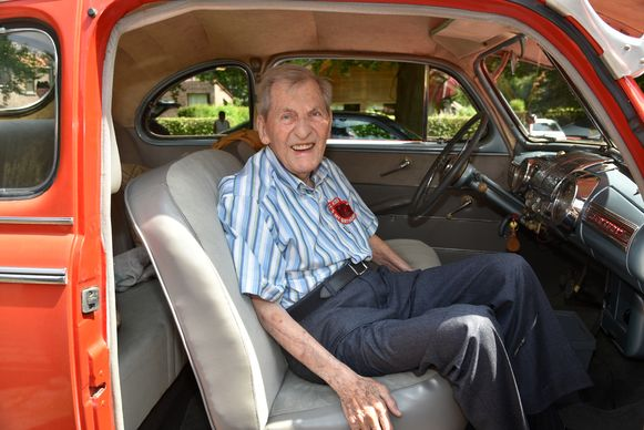 100 jarige oorlogsveteraan Sidney Colt uit Grimbergen