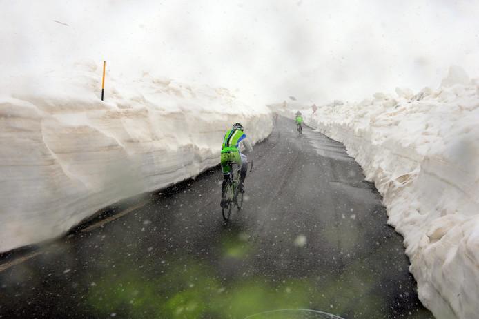In 2014 lag er ook veel sneeuw