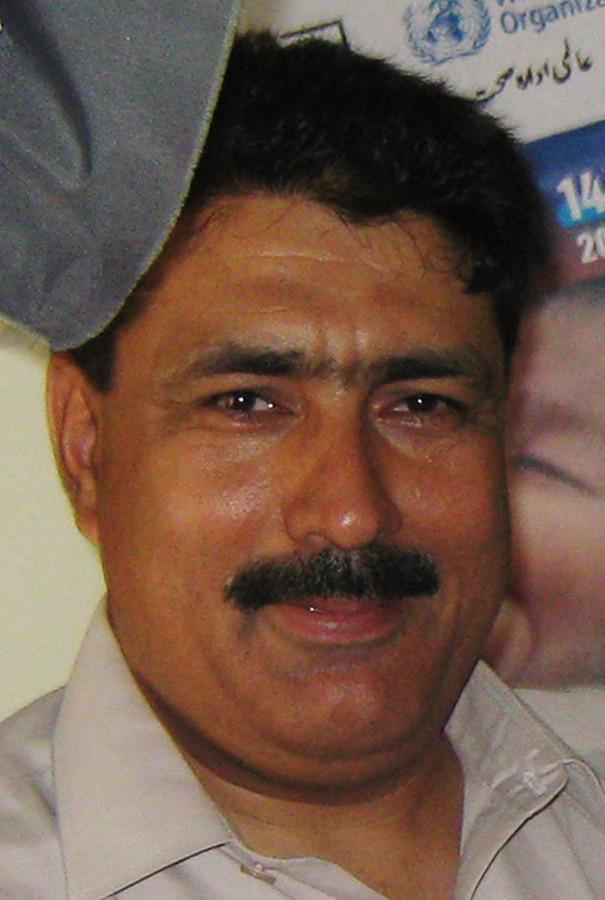 Shakil Afridi.