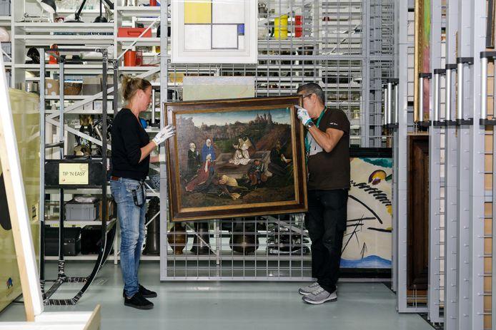 'De drie Maria's aan het graf' van Jan van Eyck gaat tijdelijk naar de grote Van Eyk-expositie in België.