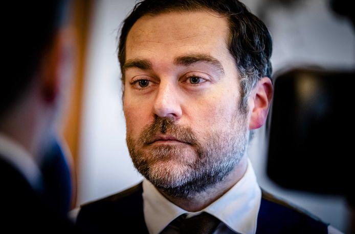 VVD-fractievoorzitter Klaas Dijkhoff kwam eind 2019 in het nauw toen hij als Kamerlid nog wachtgeld bleek te krijgen.