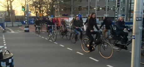 Fietsers in Utrecht hebben meeste last van vertraging