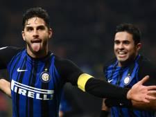 Verdedigers helpen Inter aan zege op hekkensluiter