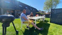 Creatief, maar veilig: barbecue met de buren, maar elk in zijn tuin