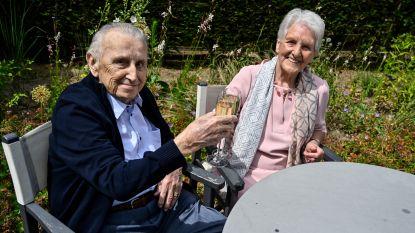 Liefde op eerste gezicht, nu zeventig jaar samen: Fernand en Diane vieren platina jubileum