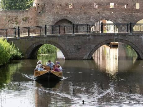 Verkoeling met fluisterboten op de Berkel in Zutphen