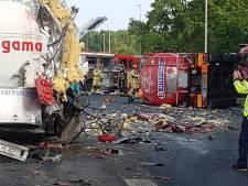 A1 en A35 weer open na zware ongelukken bij Enter en Borne