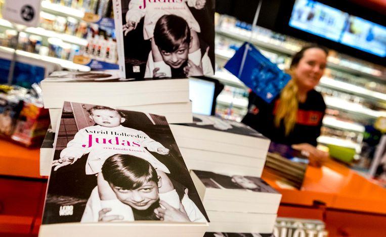 De cover van het boek Judas, geschreven door Astrid Holleeder. Beeld null