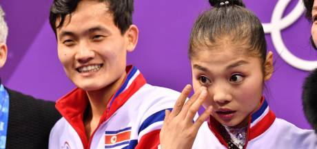Emotionele Noord-Koreaanse kunstschaatsster: Heel Korea juichte voor mij