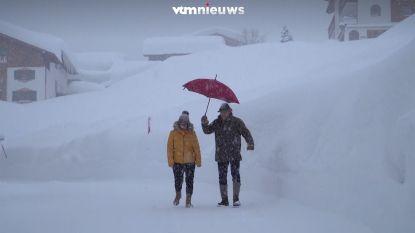 VIDEO. Sneeuwchaos in Oostenrijk blijft aanhouden