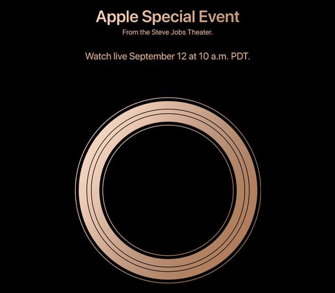Het Apple Event is, net als vorig jaar, op 12 september.