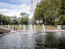Fontein in Koningin Astridpark stilgelegd door aanhoudende droogte