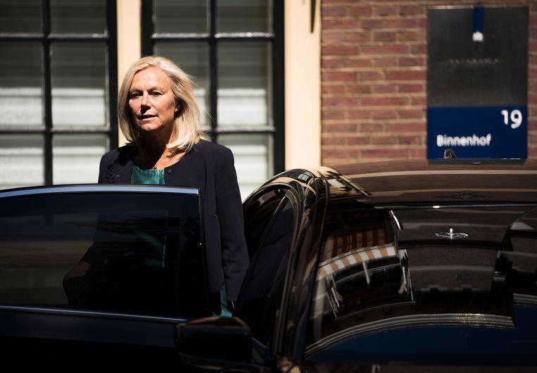 Minister Sigrid Kaag voor Buitenlandse Handel en Ontwikkelingssamenwerking (D66). Beeld Freek van den Bergh / de Volkskrant