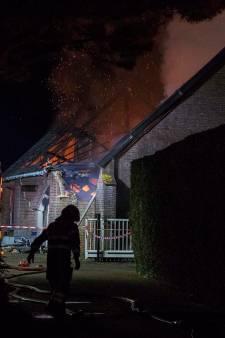 Brand in loods in Sint Hubert komt door kortsluiting