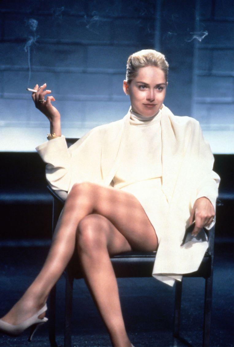 Sharon Stone in Basic Instinct, 1992. Beeld TriStar Pictures