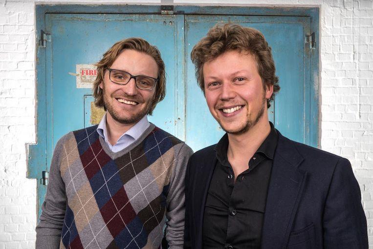 Co-CEO's Michel De Wachter en Jonas De Cooman zijn het brein achter de applicatie Spott.