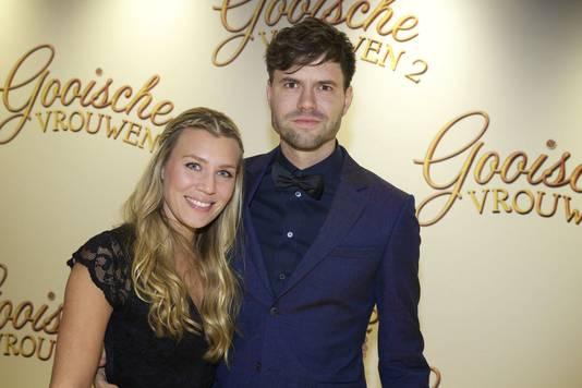 Simon Keizer met zijn Annemarie