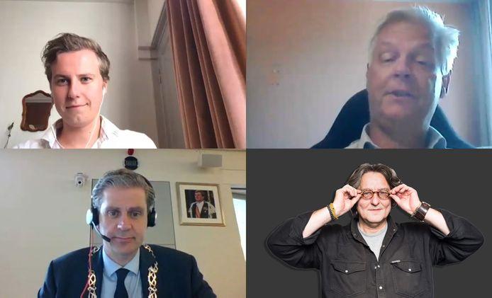 Kees Thies vindt dat de digitale vergaderingen van de gemeenteraad in Dordrecht wel wat soepeler mogen verlopen.