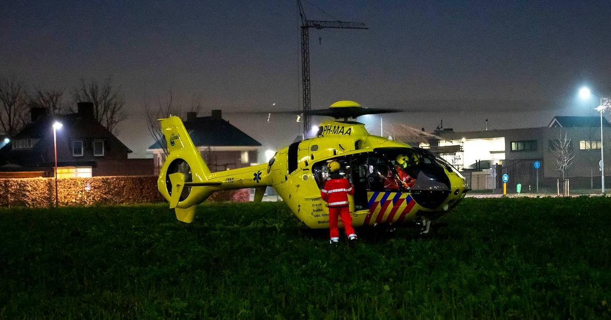 Scooterrijder zwaargewond bij ongeluk in Oss.