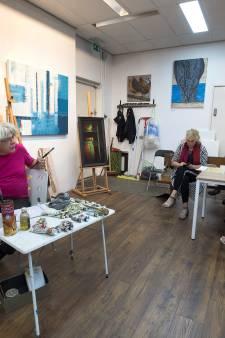 Over schilderkunst is het in Doesburg ook mooi praten