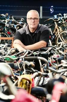 Vers geoogste fietsen van Smakkelaarsveld verwerkt bij Fietspunt tot schroot of trendy tweedehandsje