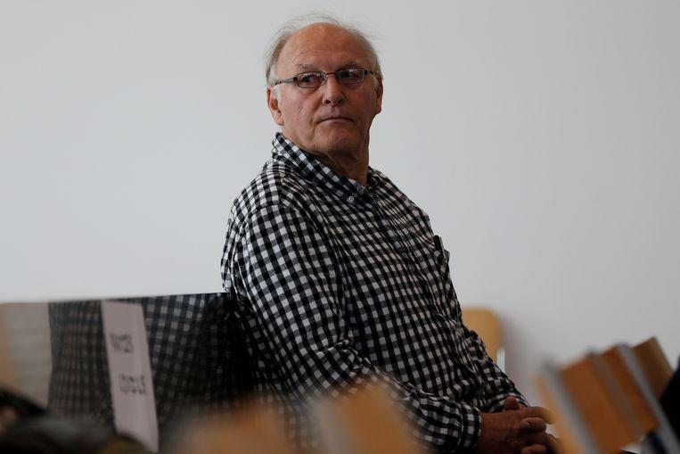 Sainz vorig jaar tijdens zijn proces in Caen.