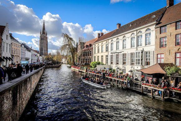 Brugge Dijver wordt beschermd zicht