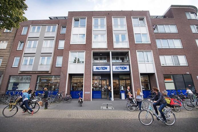 De winkel van Action aan de Graafseweg in Nijmegen.