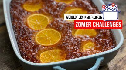 Op wereldreis in je keuken - Griekse portokalopita