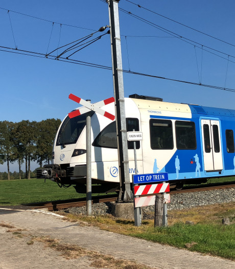 Geen treinen tussen Zwolle en Dalfsen door overwegstoring