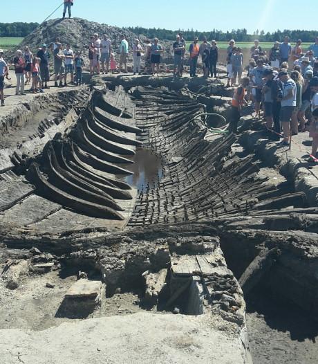 Scheepswrak Queen Anne in Bant blijft zichtbaar voor publiek