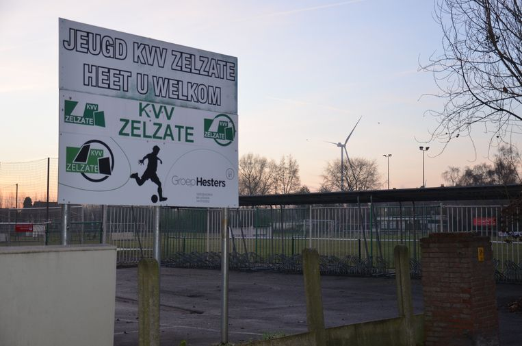 Het B-complex van KVV Zelzate maakt in de toekomst plaats voor een woonwijk.