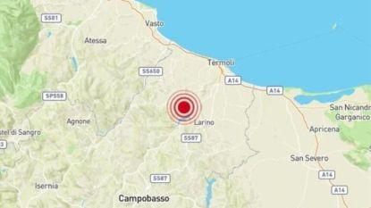 Sterke aardbeving treft oostelijke centrum van Italië