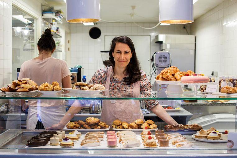 Audrey Krief, eigenaar van My Little Patisserie: 'Het belang van goed leven zit in ons dna' Beeld Carly Wollaert
