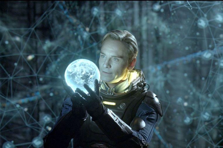Michael Fassbender in 'Prometheus' (Ridley Scott, 2012). Beeld