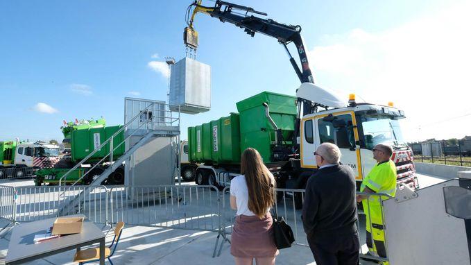 Afvalbeheerder Ivarem opent nieuwe site