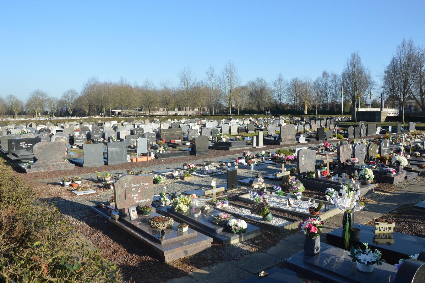 De begraafplaats van Ninove.