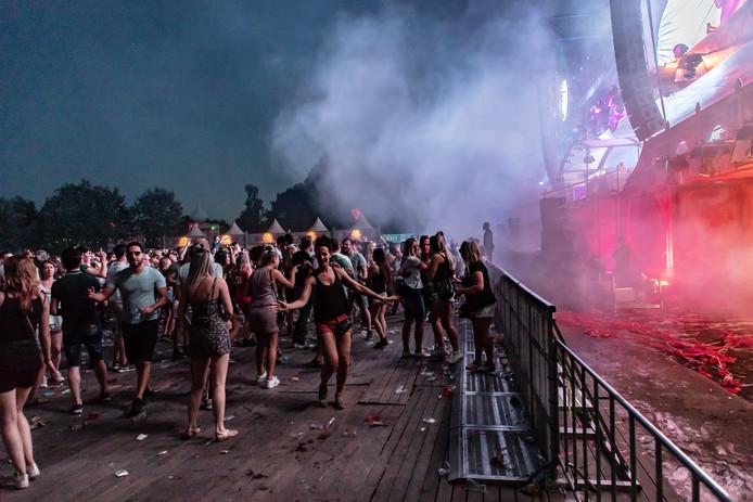 Het Daydreamfestival op Aquabest in 2018. (archieffoto)