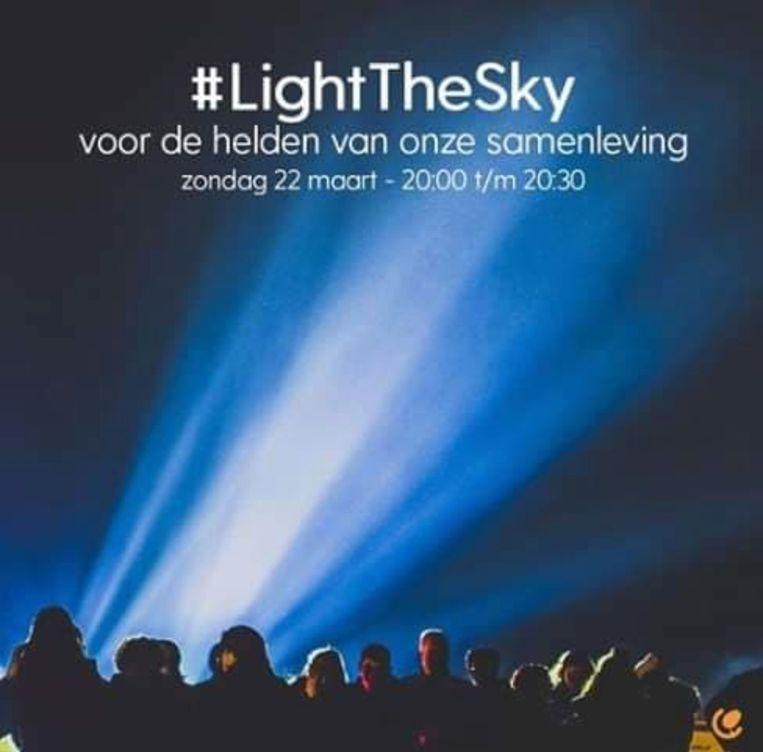 Light the sky