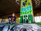 Dylan (25) spuit graffiti uit liefde voor zijn vermoorde ex-vriendin Lisa