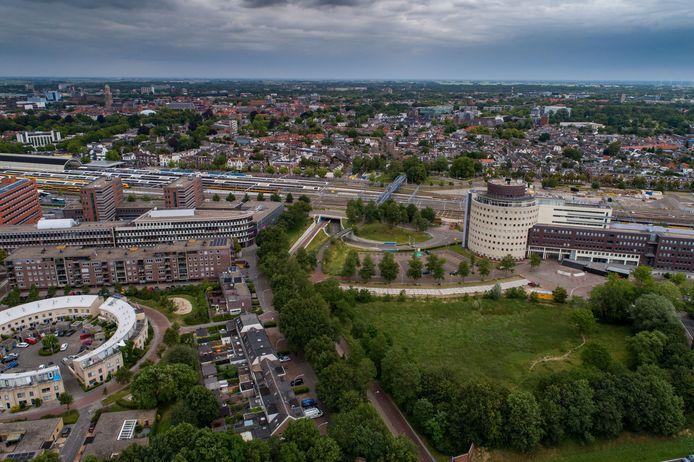 Er komt meer ruimte voor wonen in kantorenwijk Hanzeland in Zwolle.