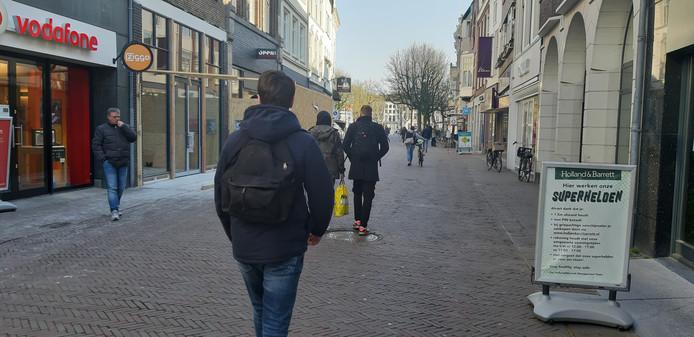 The Athlete's Foot vestigt zich ondanks corona in het pand tussen Vodafone en Open 32 in de Korte B. in Deventer