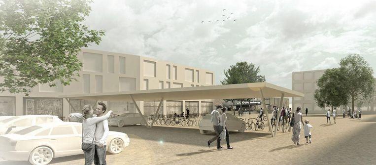 Het Guldenbergplein zal de komende jaren een metamorfose ondergaan. De huidige CD&V-meerderheid stelde onlangs de plannen voor.