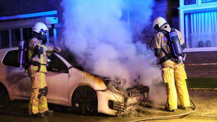 De meest recente autobrand in Enschede.