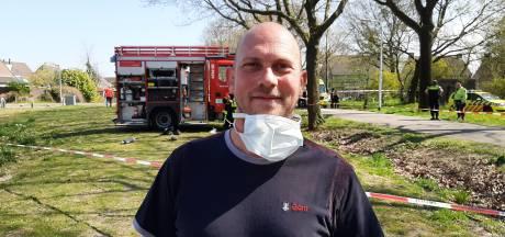 Glazenwasser Dave bracht ouderen in veiligheid tijdens felle brand Reyshoeve, 'Ik ben zo blij dat ik in de buurt was'