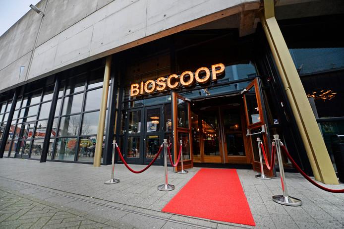 De nieuwe ingang van de bioscoop in Hengelo