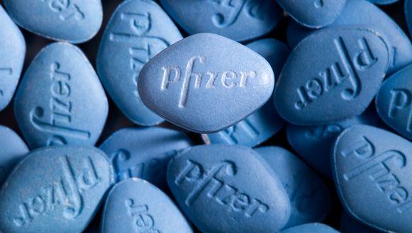 Viagra-pillen van Pfizer.