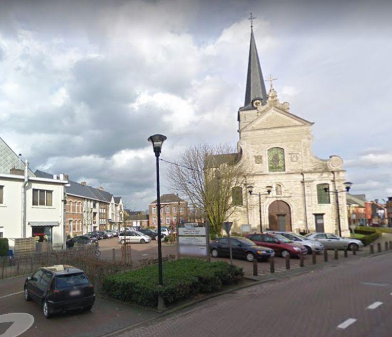 De kerk van Broechem.