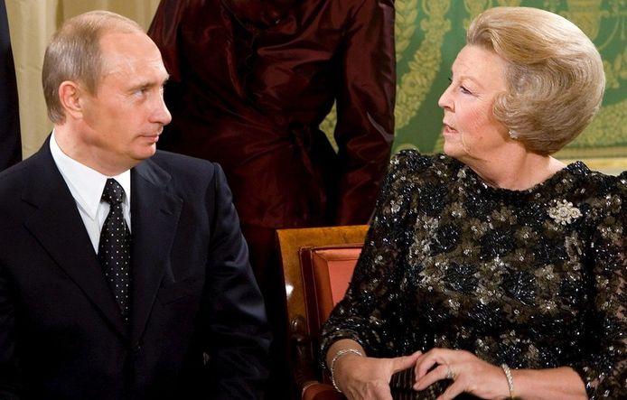 In 2005 had Poetin ook een ontmoeting met Beatrix in ons land.
