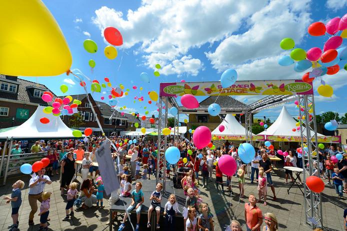 Massaal ballonnen oplaten tijdens evenementen wordt verleden tijd in Steenwijkerland.